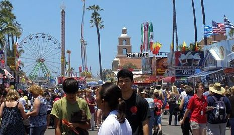 Del Mar Fair  or  San Diego County Fair 2011