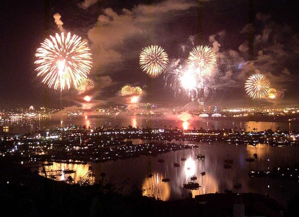 July 4th Fireworks San Diego 2011
