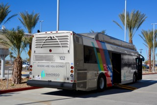 New SAN Rental Car Center Shuttles